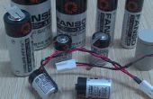 Tamaño de 3.6V AA ER14505 Batería de litio no recargable (Li-SOCl2)