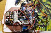 Attiny2313 robot con Bluetooth HC06 y motores paso a paso