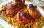 Kabsa pollo (con Tahini)