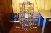 Doble ascensor de cadena, una elevación de la máquina de bola de K'nex