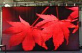 Exhibición de LED flexible, flexible cortina de LED pantalla con cuerpo delgado, peso ligero de la etapa móvil, show de visión e iluminación DJ (www.ledaliveshow.com