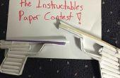 Pistola de papel de funcionamiento