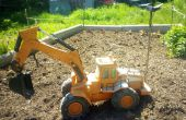 Excavadora de juguete de FPV Internet controlado