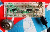 Funcionamiento motor de huso HDD usando IC 4017 + 555 + L293D