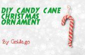 DIY dulces de Navidad de caña