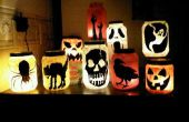 Pepinillo tarro Illuminataries para Halloween