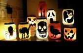 Pepinillo tarro Illuminataries para Halloween