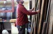 Medida reclamada muestra de madera