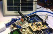 Monitor de ritmo cardiaco con energía solar