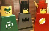 Traje de hombre Lego para niños