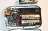 Interruptor modo Altoids iPOD cargador con 3 baterías 'AA'