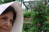 TAPA de listón 1870 modificado, paciente de LUPUS felizmente jardinería en E.  TEXAS