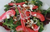Ensalada de manzana de rosa