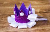 Corona hecha a mano espuma