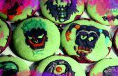 Suicidio Escuadrón menta Chocolate cráneo Cookies