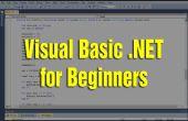 Aprender Visual Basic .NET para principiantes