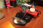 Escudo del Arduino RC coche bluetooth con motor