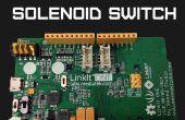 LinkIt uno Bluetooth solenoide Control
