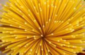Cómo medir porciones de Spaghetti