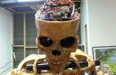 Automatizado de cráneo que habla