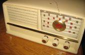 Trayendo nueva vida a una vieja radio de tubo
