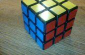 Modelo de cubo de Rubik: pistola de dedo
