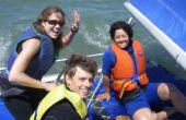 Coser un trampolín de catamarán rápido
