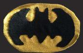 Cómo el símbolo de Batman de ganchillo
