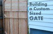 Cómo construir una costumbre tamaño puerta