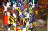 Proyecto de máquina de la bola de la caja K'nex