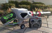 Robot de Control remoto Jet Car - soplador de hojas