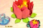 Flor de loto LED