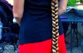 Cómo hacer el pelo ridículamente largo