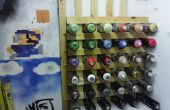 Pintura de aerosol / portalatas