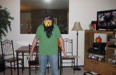 Cómo hacer una barata MK Scorpian capucha con máscara