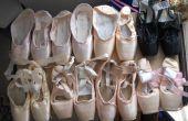 Cómo preparar zapatos pointe