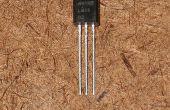 Un Sensor de temperatura LM35 a prueba de agua