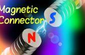 Conector de corriente magnético más fácil