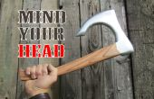 Boomerang de hacha de vikingo