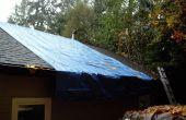 Sustitución de teja de asfalto, parar las goteras en el techo!