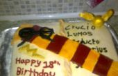 Harry Potter libro torta