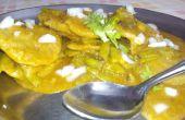 Habas de racimo / Gavarfali Dhokli con trigo harina receta India bolas de masa hervida-DIY