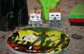 Zombi / fiesta de cumpleaños temática de película de terror juegos de