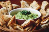 Home Guacamole & Pita Chips