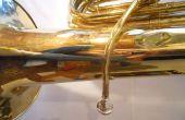 Eliminación de una boquilla pegada de una Tuba (u otro instrumento de latón)