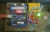Arduino ATTiny85 voltaje Monitor RGB LED