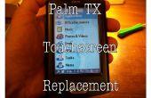 Reemplazar la pantalla táctil (digitalizador) en un Palm TX