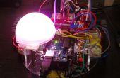 Voz de Arduino controlar Robot con LED RGB