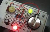 555 temporizador LED Flasher