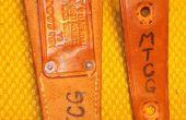 Cuchillo vaina reparación / modificación